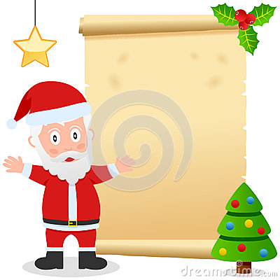 Santa Claus and Old Parchment