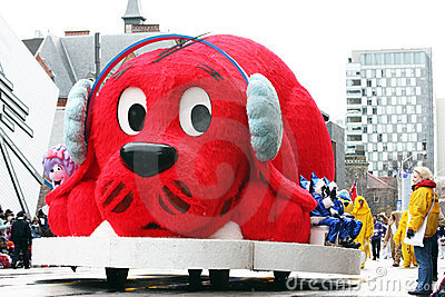 The Santa Claus Parade 2008 Editorial Photo