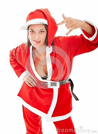 Santa claus rap and sexy