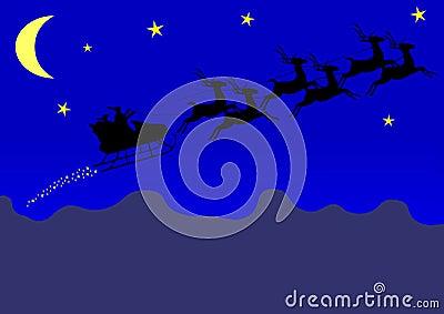 Santa Claus s sleigh
