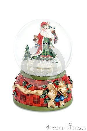 Free Santa Claus Snow Globe Royalty Free Stock Photos - 6367398