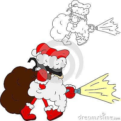 Santa Claus thief