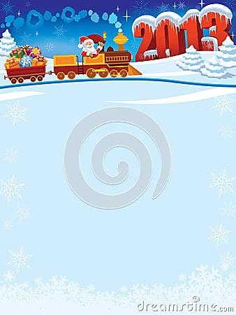 Santa Claus train
