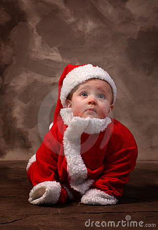 Santa clause baby