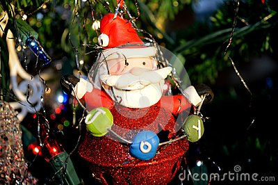 Santa Joy Ornament