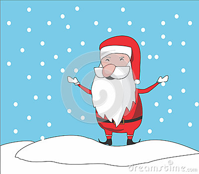 Santa clause chibi