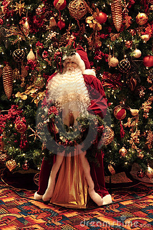 Santa Clause and Decorations