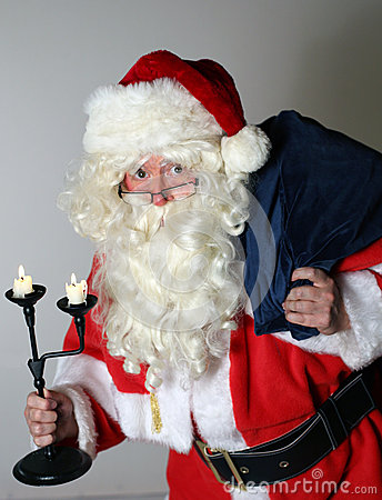 Santa Clause with Sack