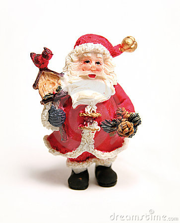 Free Santa Clause Statue Royalty Free Stock Photos - 7681478