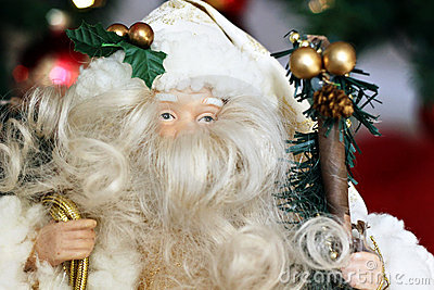 Santa Close-up Stock Photo - Image: 17242200