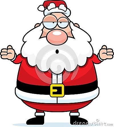Santa Confused