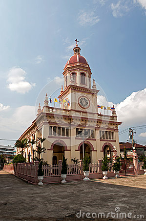 Santa Cruz Church (the Portuguese legacy in Bangkok)