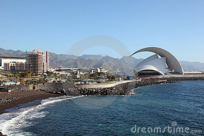 Santa Cruz de Tenerife, Spain Editorial Photo