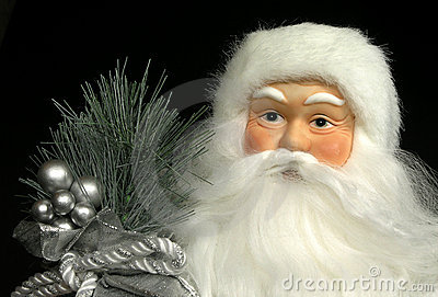 Santa Doll Portrait