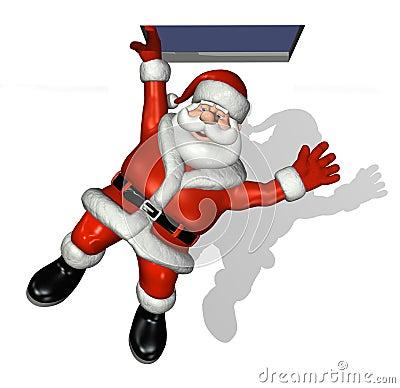 Santa Drops By