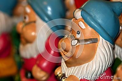 Santa dwarf figures