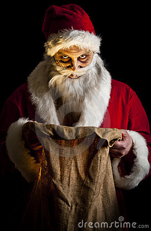 Santa effrayante
