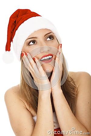 Santa espantada