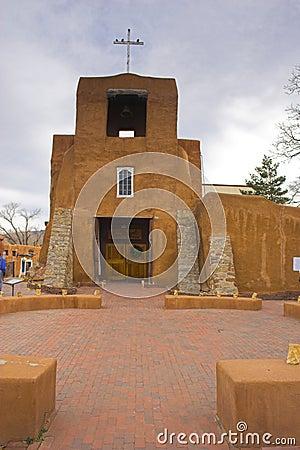 Free Santa Fe Church Royalty Free Stock Photos - 3616368