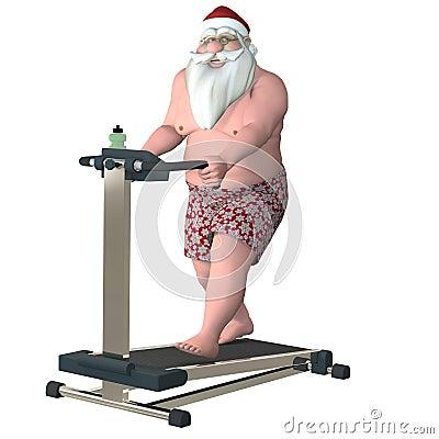 Santa Fitness - Treadmill