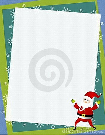 Santa Frame Background