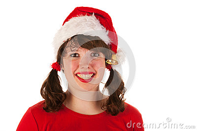 Santa girl