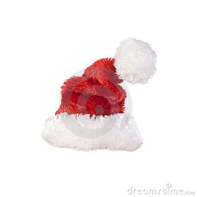 Santa hat close-up