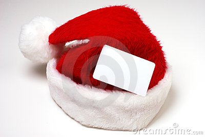 Santa Hat with Credit Card