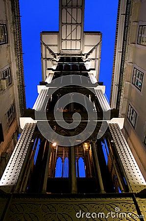 Santa Justa Lift, Lisbon