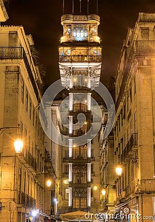 Santa Justa Lift  Lisbon, Portugal