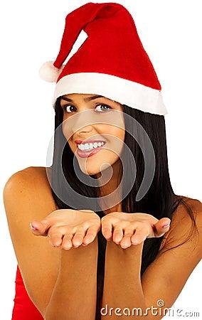 Santa kvinna