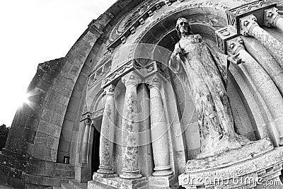 Santa Luzia basilica facade