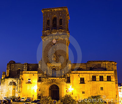 Santa Maria de la Ascuncion at dusk