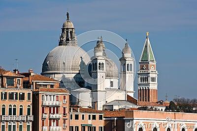Santa Maria della Salute church in Venice