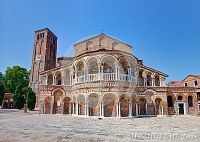 The  Santa Maria e Donato church of Murano, Italy