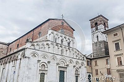 Santa Maria Forisportam in Lucca, Tuscany, Italy