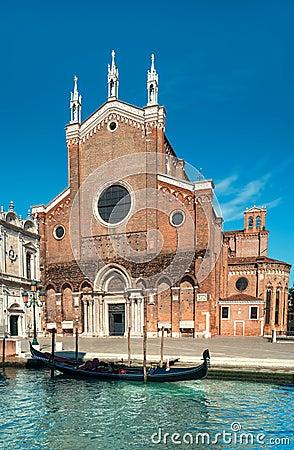 Free Santa Maria Gloriosa Dei Frari At Venice Royalty Free Stock Image - 74543786