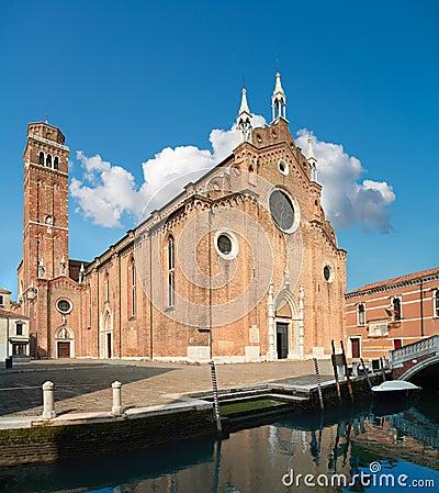 Free Santa Maria Gloriosa Dei Frari, Venice Royalty Free Stock Image - 88053546