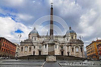 Santa Maria Maggiore Editorial Stock Image