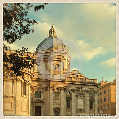 Free Santa Maria Maggiore Church Detail Stock Photography - 27824222
