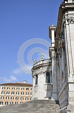Santa Maria Maggiore side