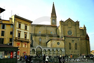 Santa Maria Novella church Editorial Photo
