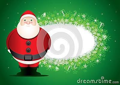 Santa message board.