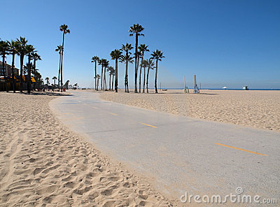Santa Monica Bike Path
