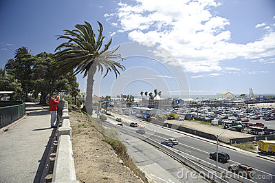 Santa Monica California Editorial Image