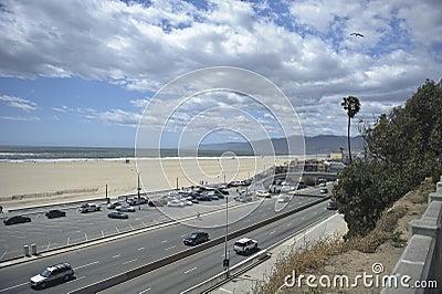 Santa Monica California Editorial Stock Image