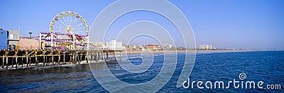 Santa Monica Pier Editorial Image