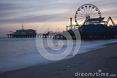 Santa Monica Pier Dusk 5