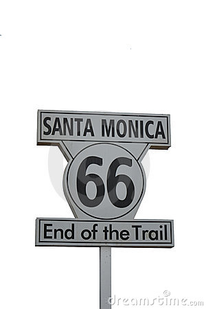 Santa Monica Route 66