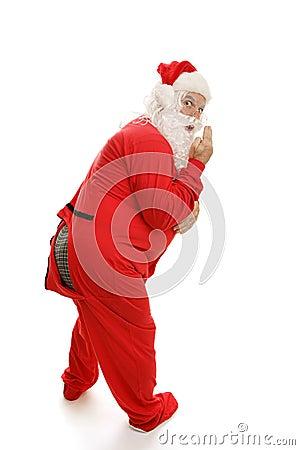 Santa in Pajamas - Ooops!